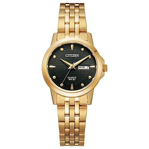 腕時計 シチズン 逆輸入 海外モデル 海外限定 【送料無料】Citizen Women's Quartz Stainless Steel Strap, Gold, 14 Casual Watch (Model: EQ0603-59F)腕時計 シチズン 逆輸入 海外モデル 海外限定
