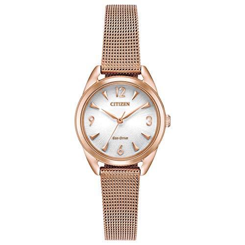 シチズン 逆輸入 海外モデル 海外限定 アメリカ直輸入 【送料無料】Citizen Women's Drive Quartz Stainless Steel Strap, Rose Gold, 12 Casual Watch (Model: EM0683-55A)シチズン 逆輸入 海外モデル 海外限定 アメリカ直輸入