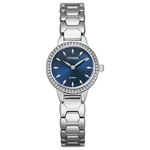 シチズン 逆輸入 海外モデル 海外限定 アメリカ直輸入 【送料無料】Citizen Women's Quartz Stainless Steel Strap, Silver, 12 Casual Watch (Model: EZ7010-56L)シチズン 逆輸入 海外モデル 海外限定 アメリカ直輸入
