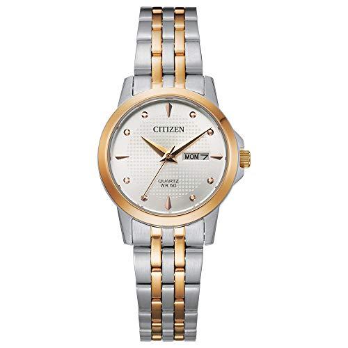 シチズン 逆輸入 海外モデル 海外限定 アメリカ直輸入 【送料無料】Citizen Women's Quartz Stainless Steel Strap, Multicolor, 14 Casual Watch (Model: EQ0605-53A)シチズン 逆輸入 海外モデル 海外限定 アメリカ直輸入