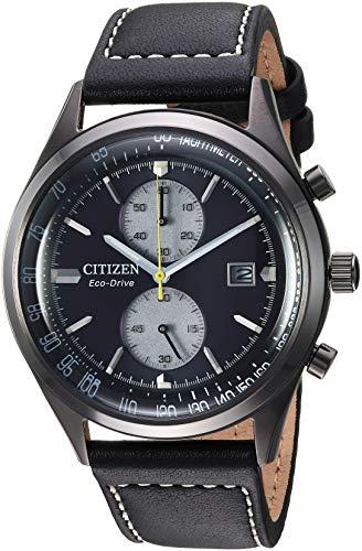 シチズン 逆輸入 海外モデル 海外限定 アメリカ直輸入 【送料無料】Citizen Men's Eco-Drive Stainless Steel Japanese-Quartz Leather Calfskin Strap, Black, 21 Casual Watch (Model: CA7027-08E)シチズン 逆輸入 海外モデル 海外限定 アメリカ直輸入