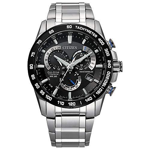 シチズン 逆輸入 海外モデル 海外限定 アメリカ直輸入 【送料無料】Citizen Men's PCAT Quartz Sport Watch with Titanium Strap, Silver, 24 (Model: CB5908-57E)シチズン 逆輸入 海外モデル 海外限定 アメリカ直輸入