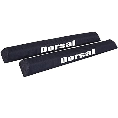 サーフィン ボードケース バックパック マリンスポーツ DORSAL-Origin-BW-Rack-Pads Dorsal Aero Roof Rack Pads for Car Surfboard Kayak SUP Snowboard Wide Bar Racks 28 Inch Longサーフィン ボードケース バックパック マリンスポーツ DORSAL-Origin-BW-Rack-Pads