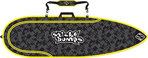 サーフィン ボードケース バックパック マリンスポーツ Sticky Bumps Single Day Bag 7' Thruster Black/Yellow/Reflectiveサーフィン ボードケース バックパック マリンスポーツ