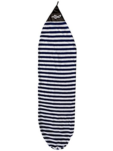 サーフィン ボードケース バックパック マリンスポーツ su-bc-fcs-085 FCS Stretch Cover - Longboard (Navy Stripe, 9ft 0in)サーフィン ボードケース バックパック マリンスポーツ su-bc-fcs-085
