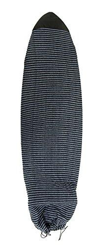 サーフィン ボードケース バックパック マリンスポーツ Komunity Fish Board Sock - Black/Grey, 5'9