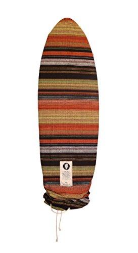 サーフィン ボードケース バックパック マリンスポーツ 【送料無料】Open Road Goods Striped Orange Surfboard Bag/Surfboard Sock Cover Travel Bag, Handmade! Awesome Surf Accessory! 8'0 Narrow/Pointサーフィン ボードケース バックパック マリンスポーツ