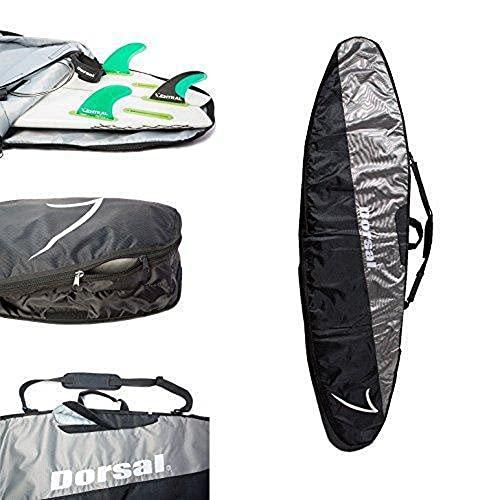 サーフィン ボードケース バックパック マリンスポーツ DORSAL-STORMBAG-102IN Dorsal Travel Longboard Surfboard Board Bag [8'0, 8'6, 9'0, 9'6] 8'6 / Black/Greyサーフィン ボードケース バックパック マリンスポーツ DORSAL-STORMBAG-102IN