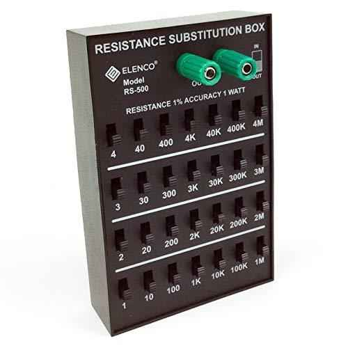 エレンコ ロボット 電子工作 知育玩具 パズル RS500 Elenco RS-500 Resistance Substitution Boxエレンコ ロボット 電子工作 知育玩具 パズル RS500