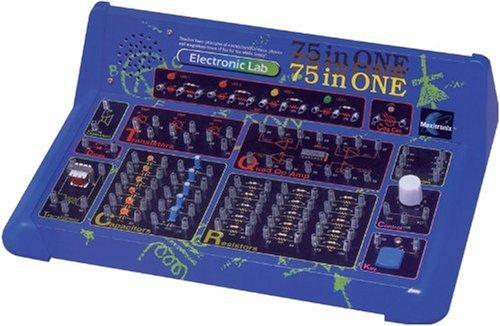 エレンコ ロボット 電子工作 知育玩具 パズル MX-905 Maxitronix 75-in-One Electronic Project Lab | Explore Electronics with 7500 Experimentsエレンコ ロボット 電子工作 知育玩具 パズル MX-905