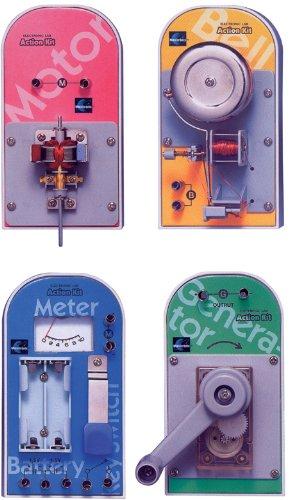 エレンコ ロボット 電子工作 知育玩具 パズル MX-902 Maxitronix 4-in-1 Electronic Project Labエレンコ ロボット 電子工作 知育玩具 パズル MX-902