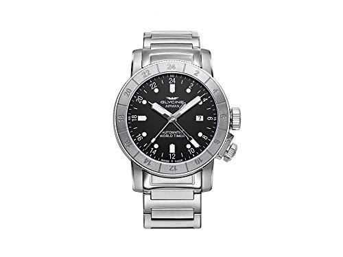 グリシン スイスウォッチ 腕時計 メンズ グライシン 【送料無料】Glycine Airman Mens Analog Swiss Automatic Watch with Stainless Steel Bracelet GL0154グリシン スイスウォッチ 腕時計 メンズ グライシン