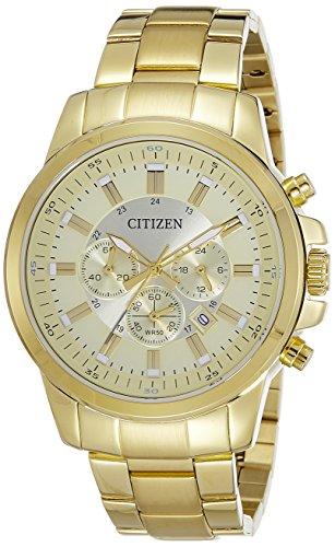 シチズン 逆輸入 海外モデル 海外限定 アメリカ直輸入 【送料無料】Citizen Analog Gold Dial Men's Watch - AN8082-54Pシチズン 逆輸入 海外モデル 海外限定 アメリカ直輸入