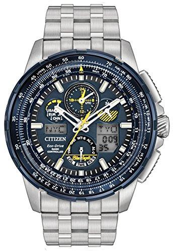 無料ラッピングでプレゼントや贈り物にも 逆輸入並行輸入送料込 腕時計 シチズン 逆輸入 海外モデル 海外限定 送料無料 Citizen 人気海外一番 Watch Angel Chronograph 選択 Blue Mens JY8058-50L腕時計 Promaster
