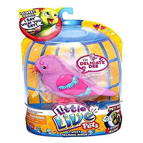 リトルライブペッツ ぬいぐるみ リアル 動く 鳴く 【送料無料】Little Live Pets Bird #1 Delicate Dee Single Pack Playsetリトルライブペッツ ぬいぐるみ リアル 動く 鳴く