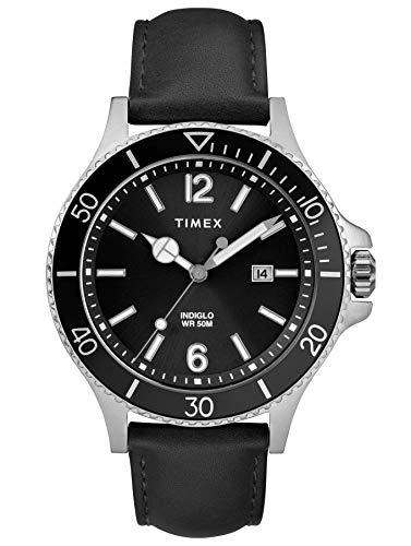 タイメックス 腕時計 メンズ 【送料無料】Timex Mens Analogue Classic Quartz Watch with Leather Strap TW2R64400タイメックス 腕時計 メンズ