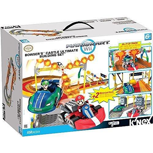 ケネックス 知育玩具 パズル ブロック 【送料無料】Mario Kart Wii KNEX Building Set #38437 Bowsers Castleケネックス 知育玩具 パズル ブロック