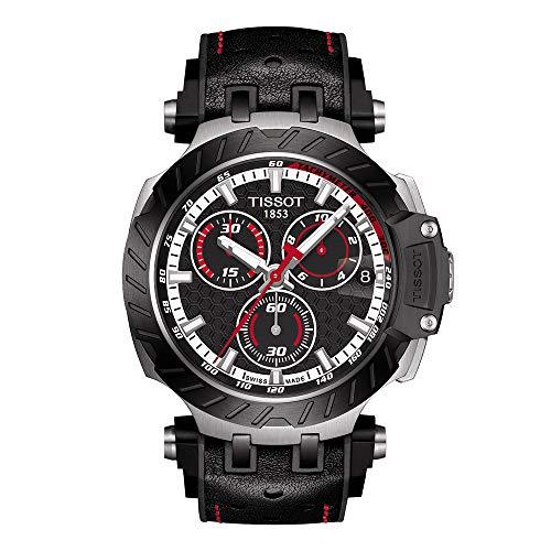 ティソ 腕時計 メンズ 【送料無料】Tissot Men's Stainless Steel Swiss Quartz Sport Watch with Rubber Strap, Black (Model: T1154172705101)ティソ 腕時計 メンズ