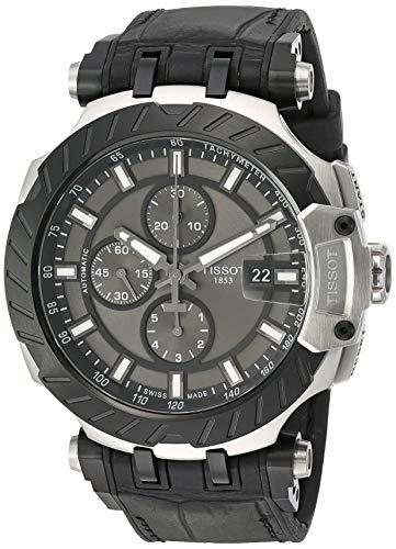 腕時計 ティソ メンズ 【送料無料】Tissot Mens T-Race Swiss Automatic Stainless Steel Sport Watch (Model: T1154272706100)腕時計 ティソ メンズ