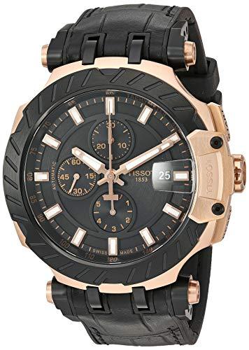 腕時計 ティソ メンズ 【送料無料】Tissot Mens T-Race Swiss Automatic Stainless Steel Sport Watch (Model: T1154273705101)腕時計 ティソ メンズ