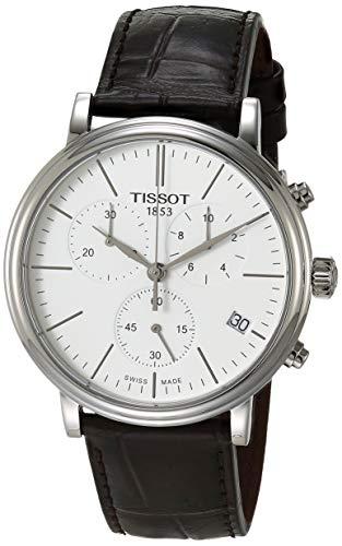 腕時計 ティソ メンズ 【送料無料】Tissot Mens Carson Swiss Quartz Stainless Steel Dress Watch (Model: T1224171601100)腕時計 ティソ メンズ