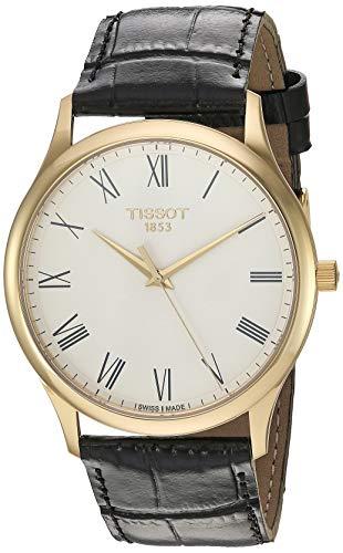ティソ 腕時計 レディース 【送料無料】Tissot Unisex Excellence Swiss Quartz Steel And 18K Gold Dress Watch (Model: T9264101601300)ティソ 腕時計 レディース