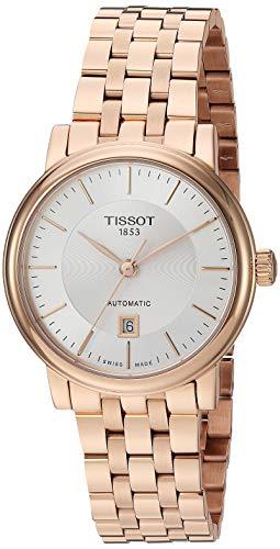 ティソ 腕時計 レディース 【送料無料】Tissot Women's Carson Swiss Automatic Stainless Steel Dress Watch (Model:T1222073303100)ティソ 腕時計 レディース