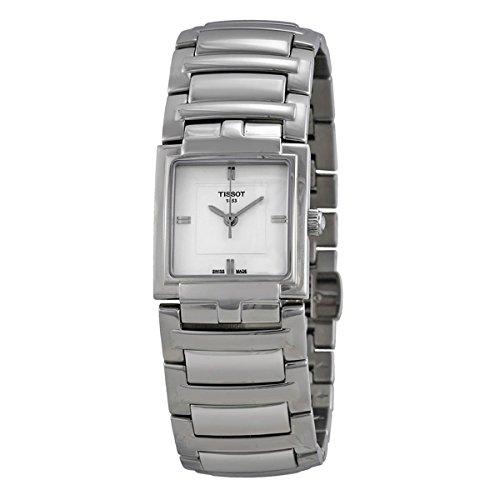 ティソ 腕時計 レディース 【送料無料】T0513101103100 Tissot T-Evocation Ladies Analog White Business Quartz Tissotティソ 腕時計 レディース