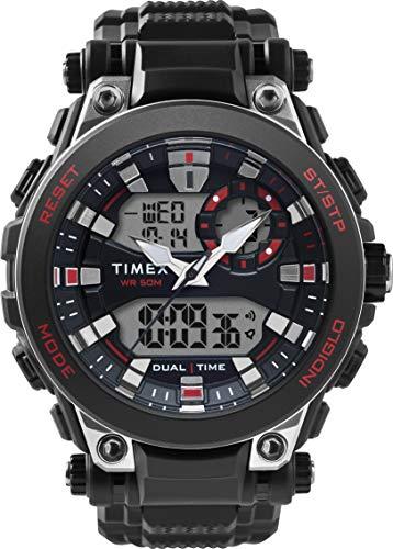 腕時計 タイメックス メンズ 【送料無料】Timex Mens Analogue-Digital Quartz Watch with Resin Strap TW5M30800腕時計 タイメックス メンズ
