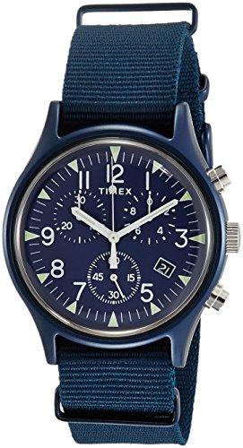 タイメックス 腕時計 メンズ 【送料無料】Timex MK1 Aluminum Chronograph 40 mm Blue Dial Watch TW2R67600タイメックス 腕時計 メンズ