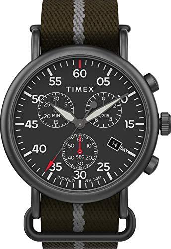 タイメックス 腕時計 メンズ 【送料無料】Timex Men's Weekender Chronograph 40 mm Watch TW2T73600タイメックス 腕時計 メンズ