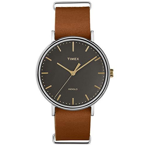腕時計 タイメックス メンズ 【送料無料】Timex Fairfield TimexUnisex Analog Black Casual Quartz TW2P97900腕時計 タイメックス メンズ