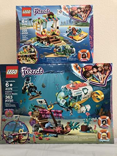 レゴ フレンズ 【送料無料】LEGO Friends Dolphins Rescue Mission Bundled Friends Turtles Rescue Missionレゴ フレンズ
