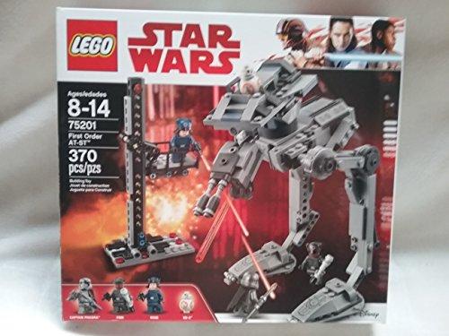 レゴ スターウォーズ 【送料無料】Lego Star Wars First Order AT-ST Includes Captain Phasma, Finn, Rose, BB-8 370 PCS 75201 Ages 8-14 New In Boxレゴ スターウォーズ