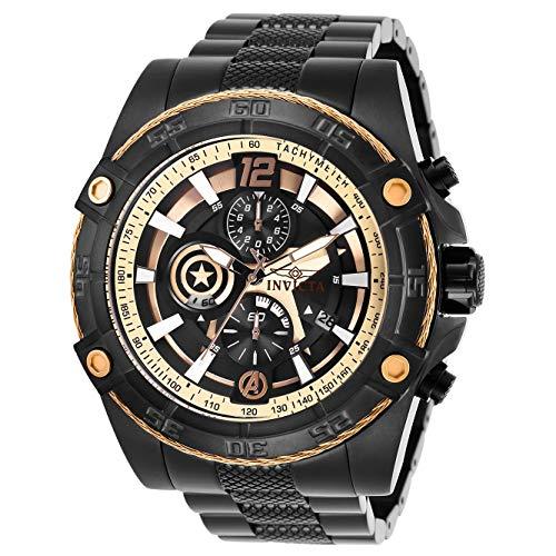 インヴィクタ インビクタ 腕時計 メンズ 【送料無料】Invicta Marvel Chronograph Black Dial Men's Watch 26795インヴィクタ インビクタ 腕時計 メンズ