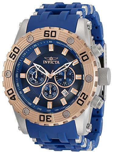 インヴィクタ インビクタ 腕時計 メンズ 【送料無料】Invicta Sea Spider Men 50mm Stainless Steel Stainless Steel Blue dial Quartz, 30819インヴィクタ インビクタ 腕時計 メンズ