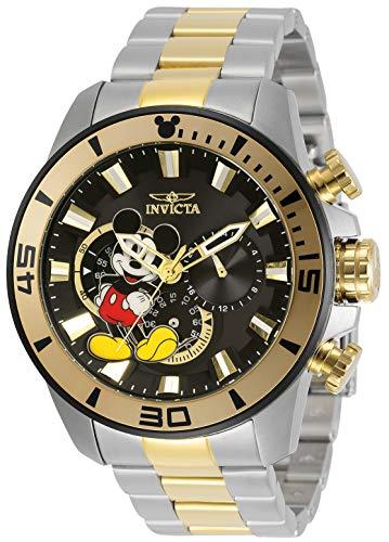 インヴィクタ インビクタ 腕時計 メンズ 【送料無料】Invicta Disney Limited Edition Men 48.5mm Stainless Steel Black dial Quartz, 30781インヴィクタ インビクタ 腕時計 メンズ