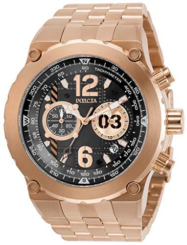 インヴィクタ インビクタ 腕時計 メンズ 【送料無料】Invicta Men's Aviator Quartz Watch with Stainless Steel Strap, Rose Gold, 32 (Model: 31593)インヴィクタ インビクタ 腕時計 メンズ