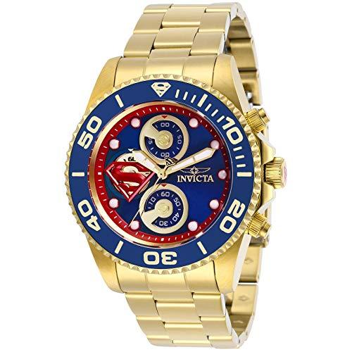 インヴィクタ インビクタ 腕時計 メンズ 【送料無料】Invicta 29064 Men's DC Comics Yellow Gold Watchインヴィクタ インビクタ 腕時計 メンズ