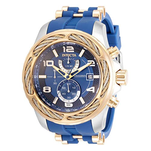 インヴィクタ インビクタ 腕時計 メンズ 【送料無料】Invicta Bolt Chronograph Quartz Blue Dial Men's Watch 31238インヴィクタ インビクタ 腕時計 メンズ