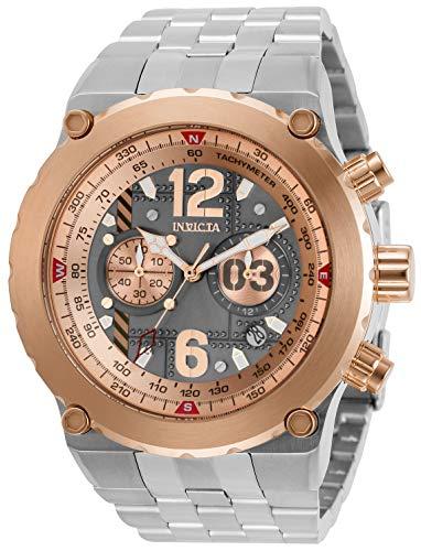 インヴィクタ インビクタ 腕時計 メンズ 【送料無料】Invicta Men's Aviator Quartz Watch with Stainless Steel Strap, Silver, 32 (Model: 31590)インヴィクタ インビクタ 腕時計 メンズ