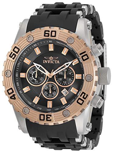 インヴィクタ インビクタ 腕時計 メンズ 【送料無料】Invicta Sea Spider Men 50mm Stainless Steel Stainless Steel Black dial Quartz, 30818インヴィクタ インビクタ 腕時計 メンズ