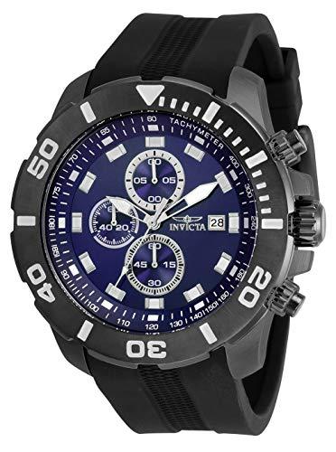 インヴィクタ インビクタ 腕時計 メンズ 【送料無料】Invicta Pro Diver Men 52mm Stainless Steel Gunmetal Blue dial Quartz, 30738インヴィクタ インビクタ 腕時計 メンズ
