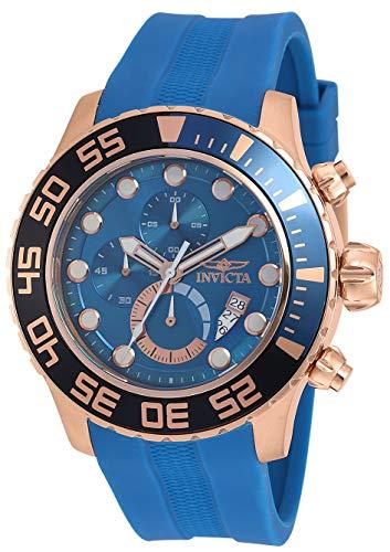 腕時計 インヴィクタ インビクタ メンズ 【送料無料】Invicta Men's Pro Diver Stainless Steel Quartz Watch with Polyurethane Strap, Blue, 26 (Model: 19247)腕時計 インヴィクタ インビクタ メンズ