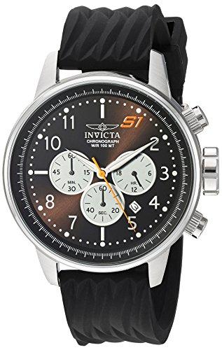 腕時計 インヴィクタ インビクタ メンズ 【送料無料】Invicta Men's S1 Rally Stainless Steel Quartz Watch with Silicone Strap, Black, 22 (Model: 23811)腕時計 インヴィクタ インビクタ メンズ