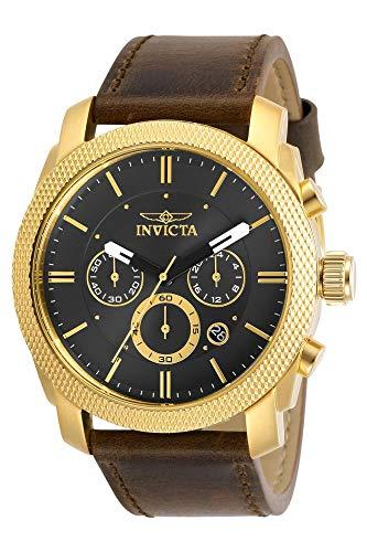 インヴィクタ インビクタ 腕時計 メンズ 【送料無料】Invicta Aviator Chronograph Quartz Black Dial Men's Watch 29798インヴィクタ インビクタ 腕時計 メンズ