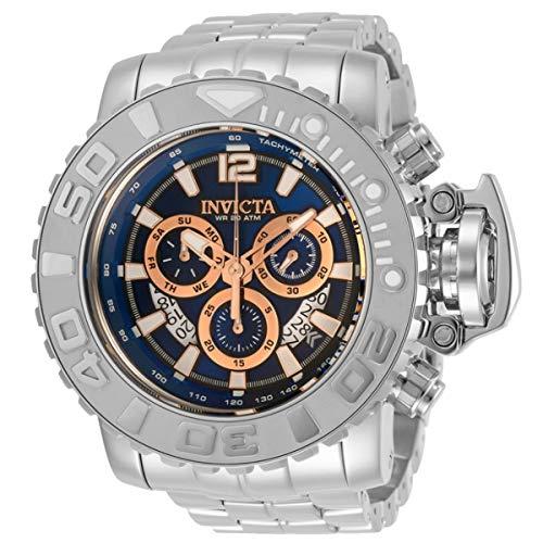 インヴィクタ インビクタ 腕時計 メンズ 【送料無料】Invicta Sea Hunter Chronograph Quartz Blue Dial Men's Watch 31425インヴィクタ インビクタ 腕時計 メンズ