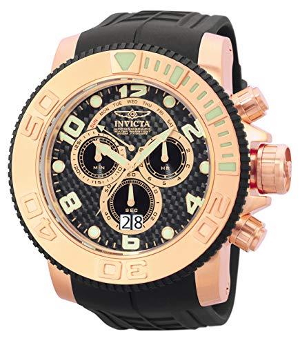 インヴィクタ インビクタ 腕時計 メンズ 【送料無料】Invicta Men's 0416 Pro Diver Collection Sea Hunter Chronograph 18k Rose Gold-Plated Stainless Steel Watchインヴィクタ インビクタ 腕時計 メンズ