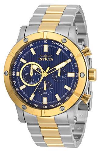 腕時計 インヴィクタ インビクタ メンズ 【送料無料】Invicta Specialty Men 46.5mm Stainless Steel Stainless Steel Blue dial Quartz, 30796腕時計 インヴィクタ インビクタ メンズ