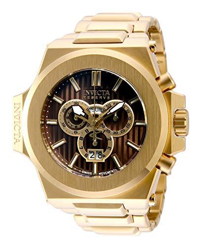 インヴィクタ インビクタ 腕時計 メンズ 【送料無料】Invicta Men's Akula Quartz Watch with Stainless Steel Strap, Gold, 32 (Model: 31674)インヴィクタ インビクタ 腕時計 メンズ